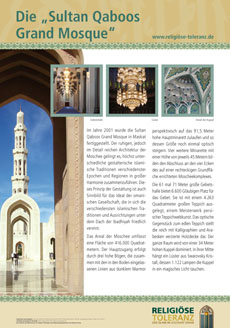 "Die ""Sultan Qaboos Grand Mosque"